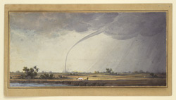 A water-spout, Contai, Midnapore District (Bengal). 1 September 1822
